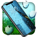 Rain Drops Live Wallpaper ️City Night Sky Themes