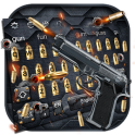 Gun and Bullet Keyboard Theme