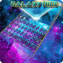 Galaxyride Keyboard Theme