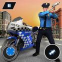 US Police Bike Chase 2020