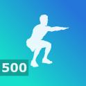500 Squats