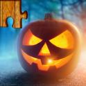 Halloween Puzzle-Spiel Kinder