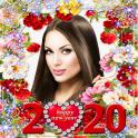 Happy New Year Photo Frame 2020