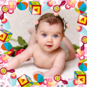 Baby photo frames maker