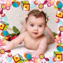 Baby photo frames maker