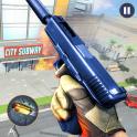 Anti Terrorist Subway Gangster Crime - Gun Shooter