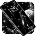 Black Live Wallpaper Free