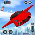 Flying Car Games 2019- Drive Robot Car Shooting
