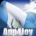 3D Guatemala Flag Live Wallpaper