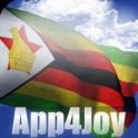 3D Zimbabwe Flag Live Wallpaper