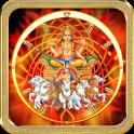 God Surya Clock