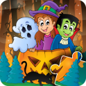 Halloween Puzzle for kids & toddlers