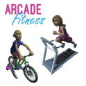 Arcade Fitness for Indoor Cycling or Treadmill Run