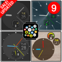 """""""Minimal"""" watch face pack 7 for Bubble Clouds"""