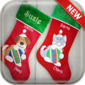 Christmas Stockings Wallpaper