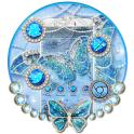 Diamond Butterfly Launcher Theme