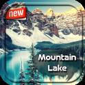 Mountain Lake Photo Frame