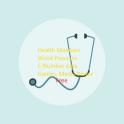 Health Maintain cardio recordings,E numbers,Calcs