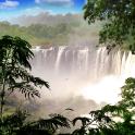 Waterfall live wallpaper . Water cascades