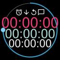 Talking Stopwatch & Timer [Countdown/up Interval]