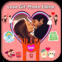 Romantic Love Gif Photo Editor 2019