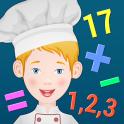 नन्हें शेफ - बच्चे सीखे गणित