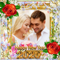 New Year Photo Frame New Year's greetings 2020