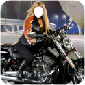 Woman Bike Photo Suit