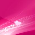 गुलाबी रंग लाइव वॉलपेपर