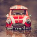 Spielzeugautos 3D Hintergrund