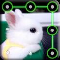 Bunny Pattern Lock Screen
