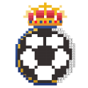 Pixel football logos