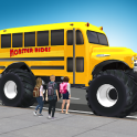 Super High School Bus Driving Simulator 3D - 2020