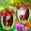 Garden Dual Photo Frames