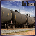Oil Tank Transport Cargo Train