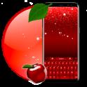 Rot Glühen Tastatur