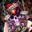 Graffiti Skull Theme