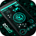 Futuristic UI Launcher 2020