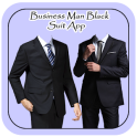 Business Man Black Suit App