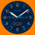 Modern Analog Clock-7