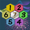 Get To 7, merge puzzle game - tournament edition.