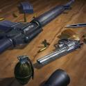 3D Guns Live Wallpaper