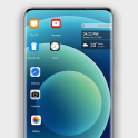 Phone 12 pro theme for computer launcher