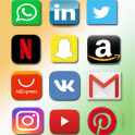 All in one social media networks in one app