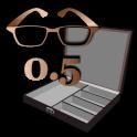 Math Word Decode Fun Item - Bronze Glasses Box