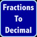 Fractions Decimals Calculator