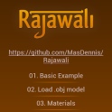 Rajawali 3D Engine Examples