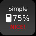 Nice Simple Battery (Widget)
