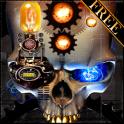 Steampunk खोपड़ी मुफ्त वॉलपेपर