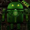 Steampunk Droid Free Wallpaper